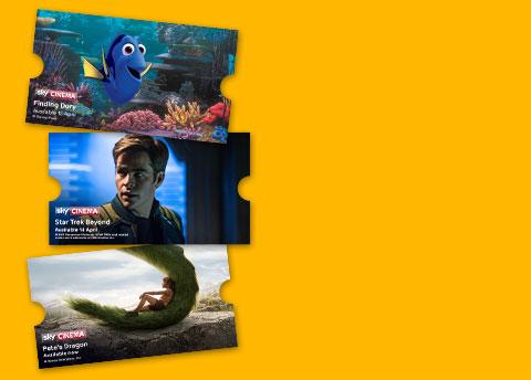 14 day free Sky Cinema Trial plus a £15 Topshop / Topman voucher