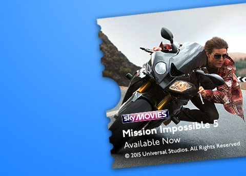 30 Day Free Trial of NOW TV plus a £15 Voucher